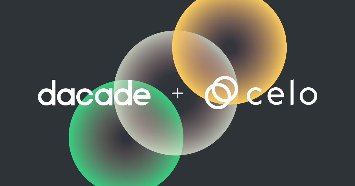 Dacade is Partnering with Celo